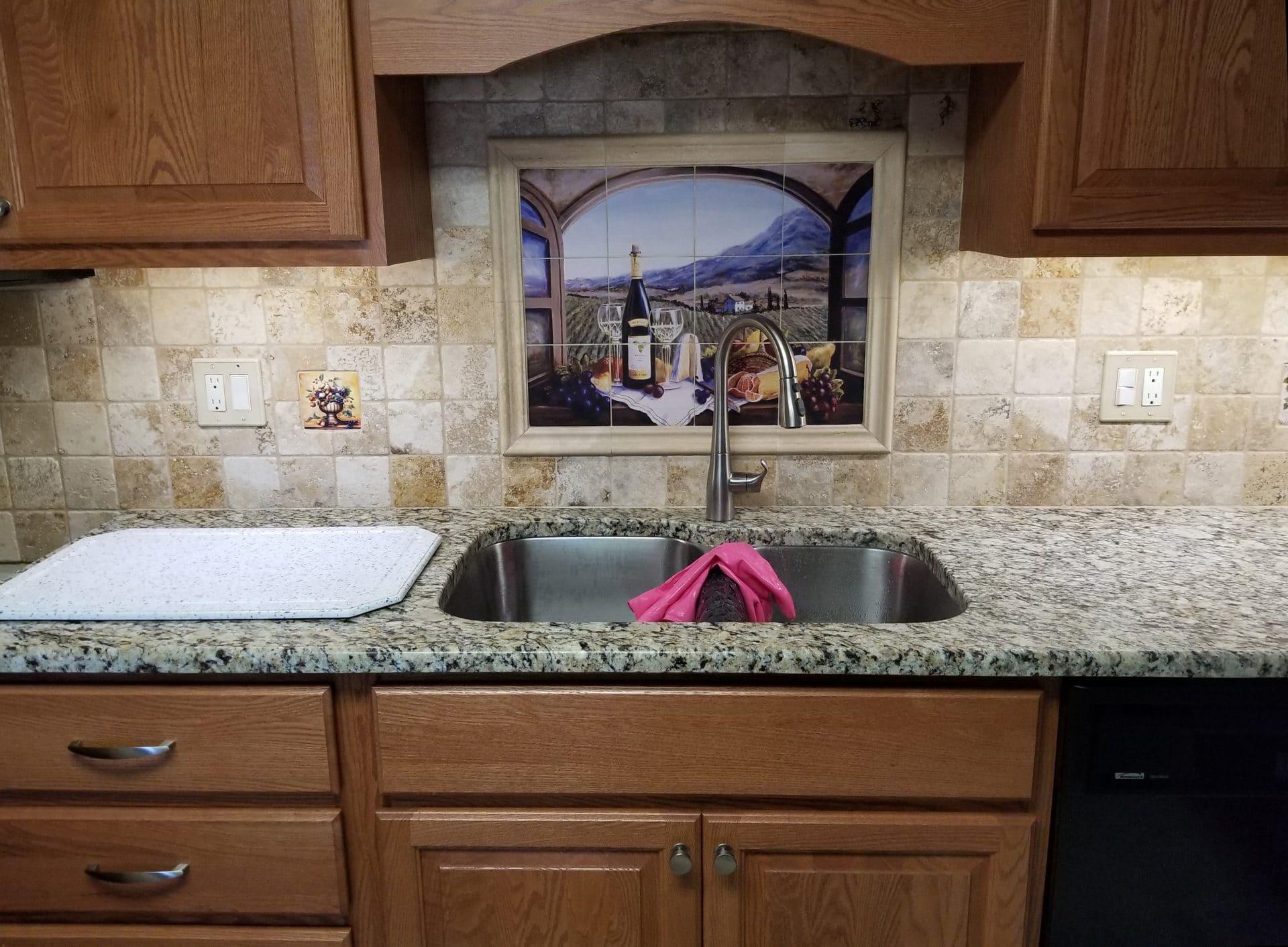 kenosha backsplash, custom tile kenosha, kitchen tile kenosha